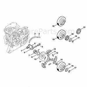 Stihl Ms 280 Chainsaw  Ms280 Cqs  Parts Diagram  Oil Pump