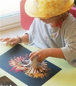 Bricolage A Faire Avec Des Petit : feu d 39 artifice en peinture jouonsensemble ~ Melissatoandfro.com Idées de Décoration