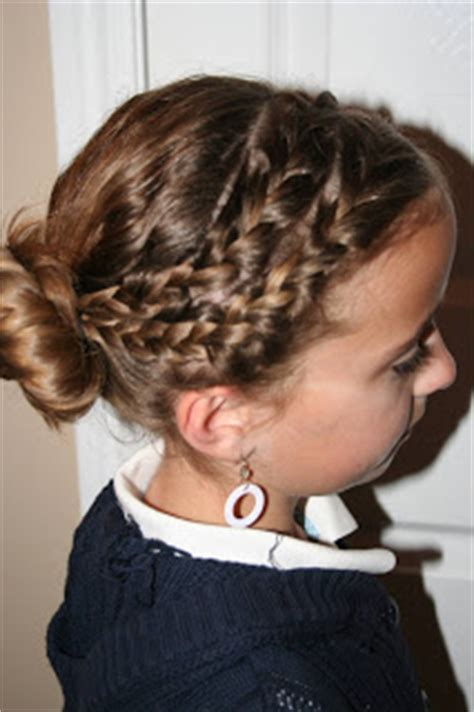 This is such a cute and creative way to spruce up your hair this easter. Double-Braid into Twisty Bun | Easter Hairstyles | Cute ...