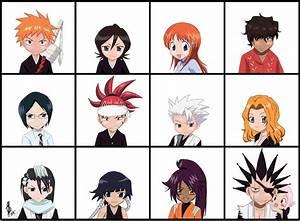 Chibi Bleach Characters by LadyOyuki on DeviantArt