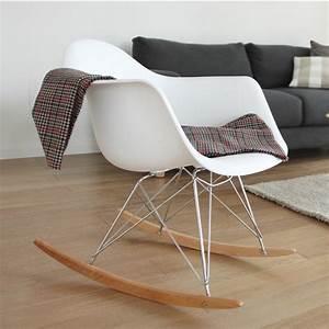 Charles Eames Schaukelstuhl : eames schaukelstuhl rar base chrom schaukelstuhl design st hle sessel ~ Sanjose-hotels-ca.com Haus und Dekorationen