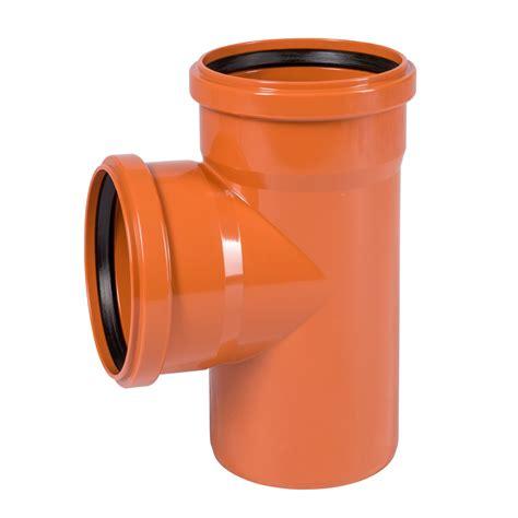 abwasserrohr dn 100 kg abzweig dn 160 160 87 176 abwasserrohr kanalrohr orange