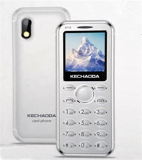 Mobile Mp4 by Mobiles Kechaoda K115 Mobile With Bluetooth Dialer Mp4