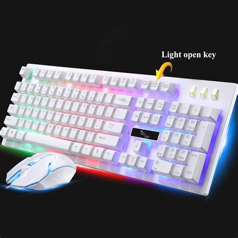 laptop with light up keyboard g20 backlight led pro gaming keyboard usb wired powered