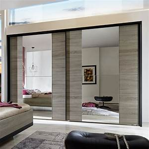 Kleiderschrank Mit Platz Für Fernseher : moderner schlafzimmerschrank mit schiebet ren und spiegel ~ Michelbontemps.com Haus und Dekorationen