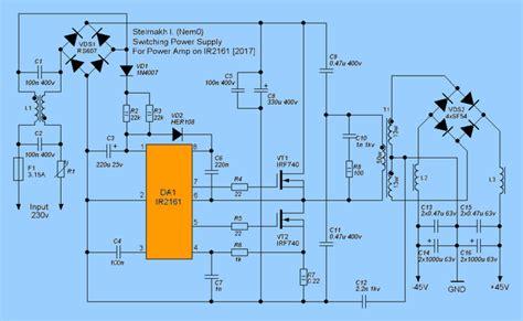 ir2161 smps circuit ir2153 alternative ir2161 smps schematic ir2161 circuit or 2153 2161 in
