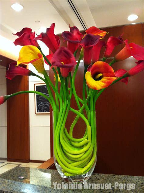 calla lily arrangement floral arrangements planter des