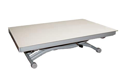 Dtails De Table Basse Relevable Zen Blanc Sur La Table