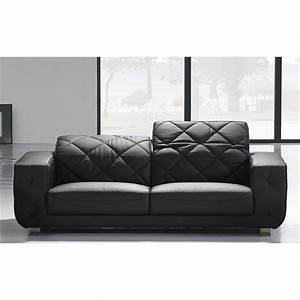 canape cuir 2 places tendance conforto 59999 With canape cuir tendance