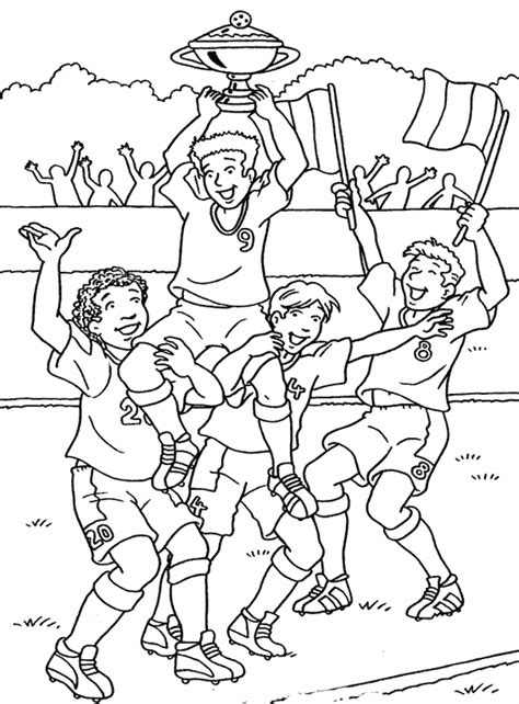 cuisine magique coloriage sports football à colorier allofamille