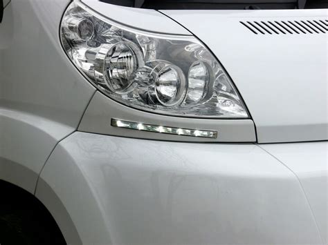 day running lights kit drl curved  fiat ducato based
