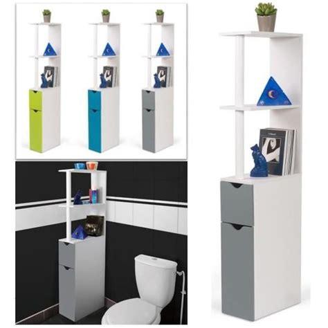 meuble cuisine 45 cm profondeur meuble wc étagère bois gain de place pour toilette porte
