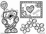 Slope Coloring Activity Finding Edition Valentine Freebie Designlooter Valentines Nerdette Math 12kb 263px sketch template
