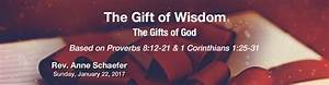 The Gifts of God: The Gift of Wisdom – Sanctuary - First ...