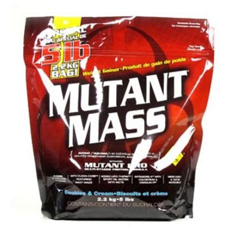 Mutant Mass 5 Lbs By Nutriku mutant mass kaufen gainer 2200g pvl