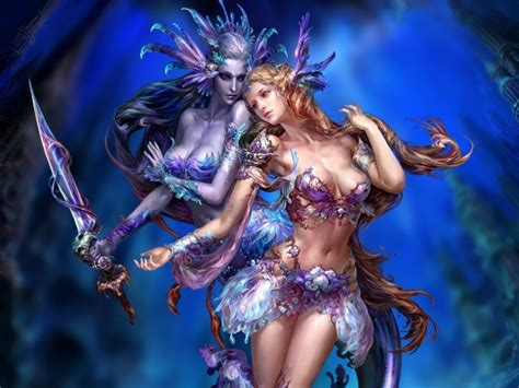 mermaid ancient times girl fantasy chinese  hd