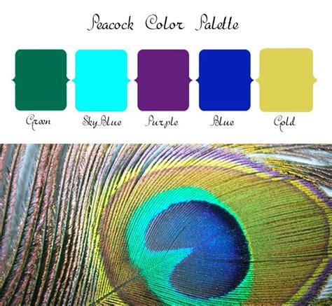 25 best ideas about peacock color scheme on