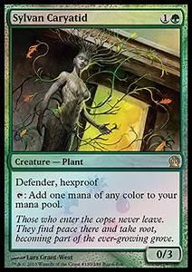 Sylvan Caryatid (Magic Card: Buy a Box Promos ...