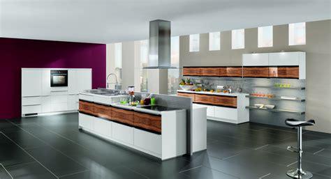 10 Light Wood Beautiful Contemporary Nobilia Kitchen Designs