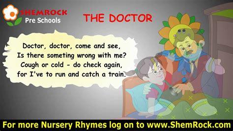 nursery rhymes  doctor songs  lyrics youtube