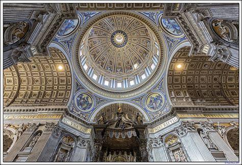 Altezza Cupola San Pietro Basilica Di San Pietro La Cupola Juzaphoto
