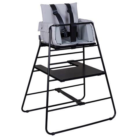 harnais pour chaise haute harnais de sécurité pour chaise haute towerchair noir