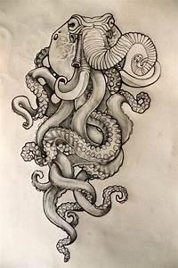 9+ Octopus Drawings - JPG Download