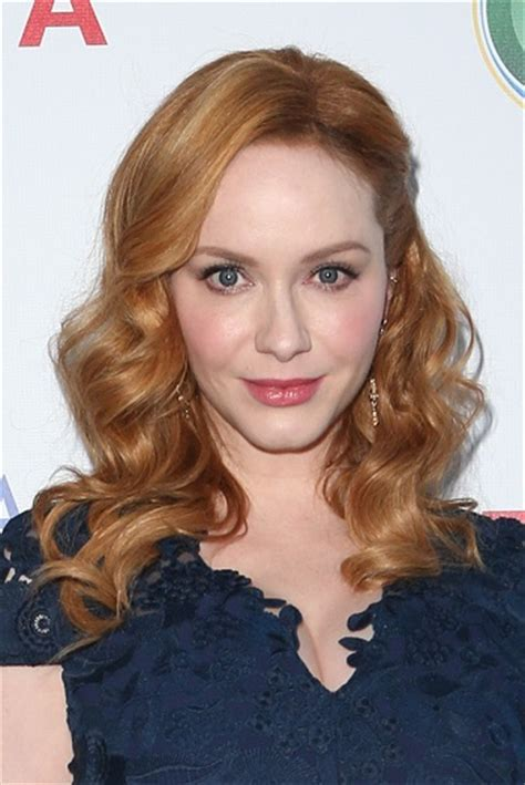 Hairstyles: Christina Hendricks ? Long Curled Hairstyle