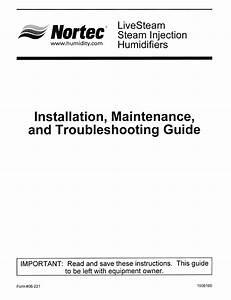 Steam Injection Humidifiers Manuals