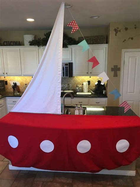 Nautical Baby Shower Party Ideas  Maritim, Kinder
