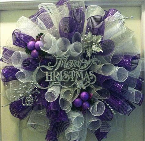 ideas  decoracion de navidad plata  morado