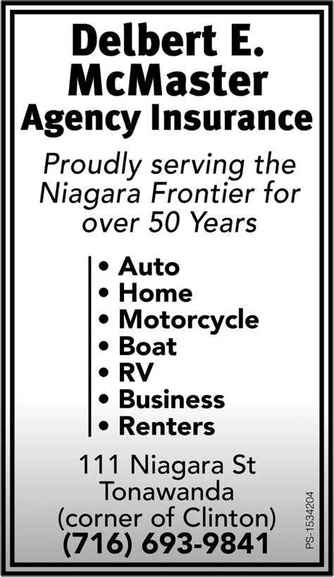 proudly serving  niagara frontier    years