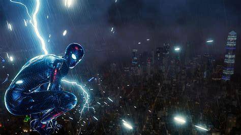 spiderman ps lighting hd superheroes  wallpapers