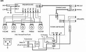 100w Guitar Amplifier - Audio Circuits