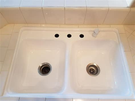 kitchen sink refinishing porcelain porcelain sink refinishing reglazing resurfacing