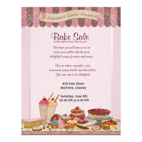 Cupcake, Cakes And Treats Bake Sale Flyer  Zazzlem. Invitation For Tea Party Template. Social Worker Cover Letters Template. Two Sided Business Cards Template. Romantic I Love You Messages For Husband. Clothing Donation Worksheet For Taxes. Simple Purchase Requisition Form Template. Customize Joomla Template. Blender Templates