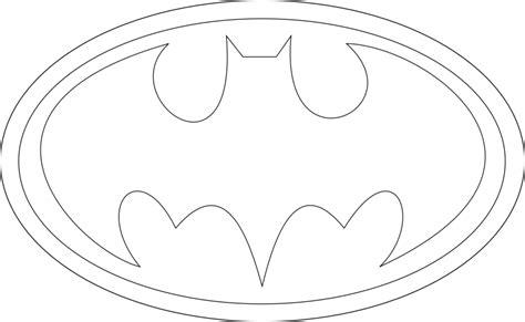 bat symbol stencil clipartsco
