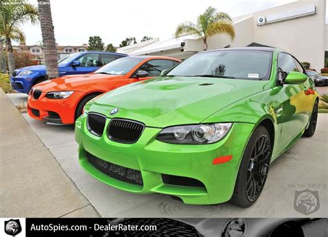 dream display  bmws  rare  hot colors autospies