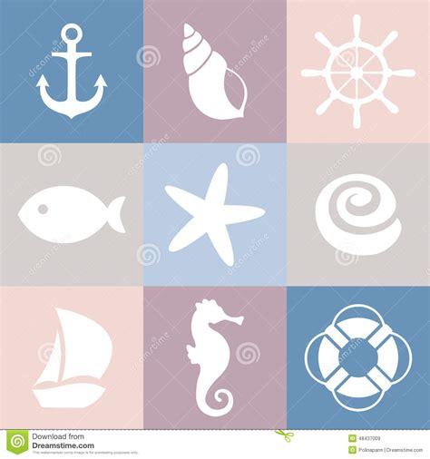 ensemble d ic 244 nes de mer shell 233 toile de mer poissons