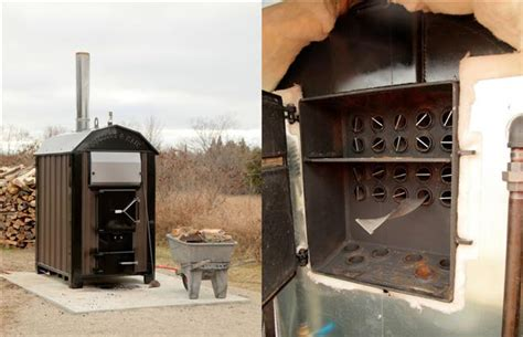 outdoor wood furnaces offer renewable affordable heating
