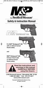 Smith And Wesson Bodyguard 380 Parts Diagram