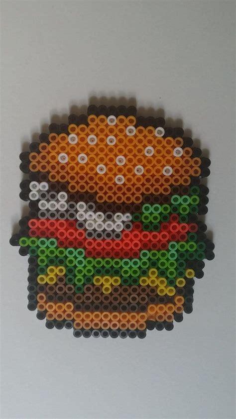 perle hama hamburger