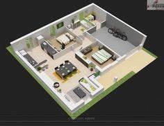 modele de plan de maison plain pied avec 3 chambres et With attractive plan maison en l 100m2 0 maison familale detail du plan de maison familale