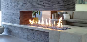 Double Sided Gas Fireplace Insert