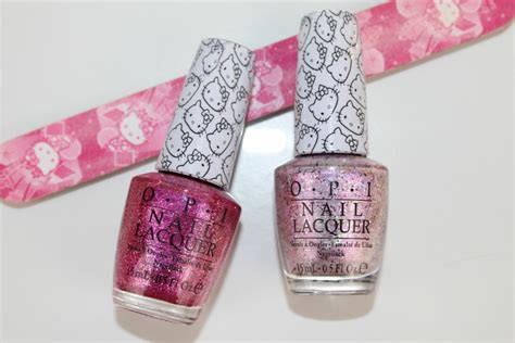 Opi Hello Kitty Nail Polish Review And Photos