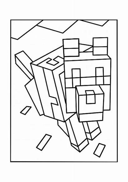 Minecraft Creeper Coloring Imprimer Dessin Unique Pintar