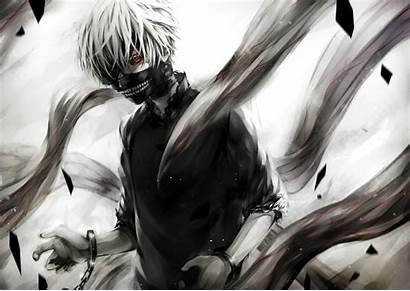 Ghoul Tokyo Anime Kaneki Ken Desktop Wallpapers