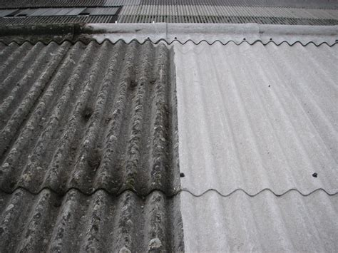 specialist asbestos roof cleaning  metal roof cleaning