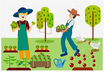Farm Clipart Farming Farmer Vegetable Agriculture Transparent