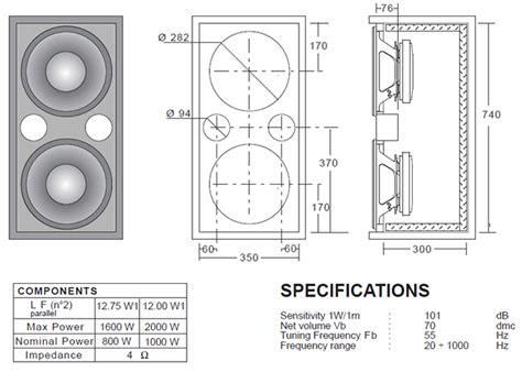 bass cabinet design pdf diy bass speaker cabinet plans download attached gable